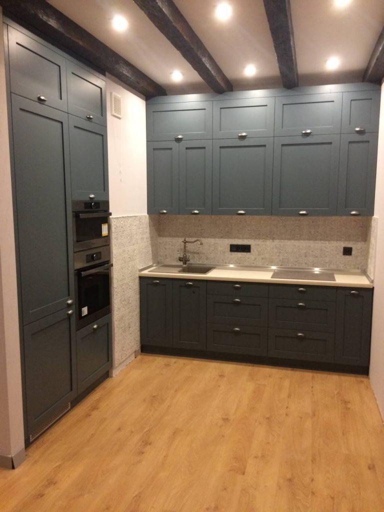 Угловая кухня ЛОФТ №34