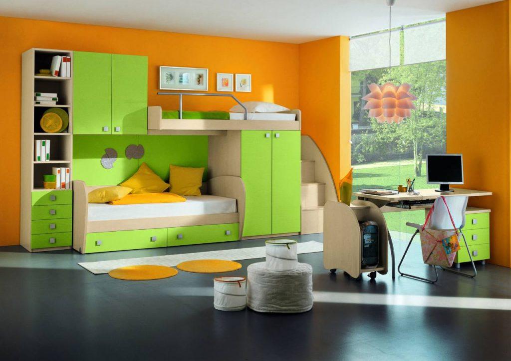 №2 комплект детской мебели Green