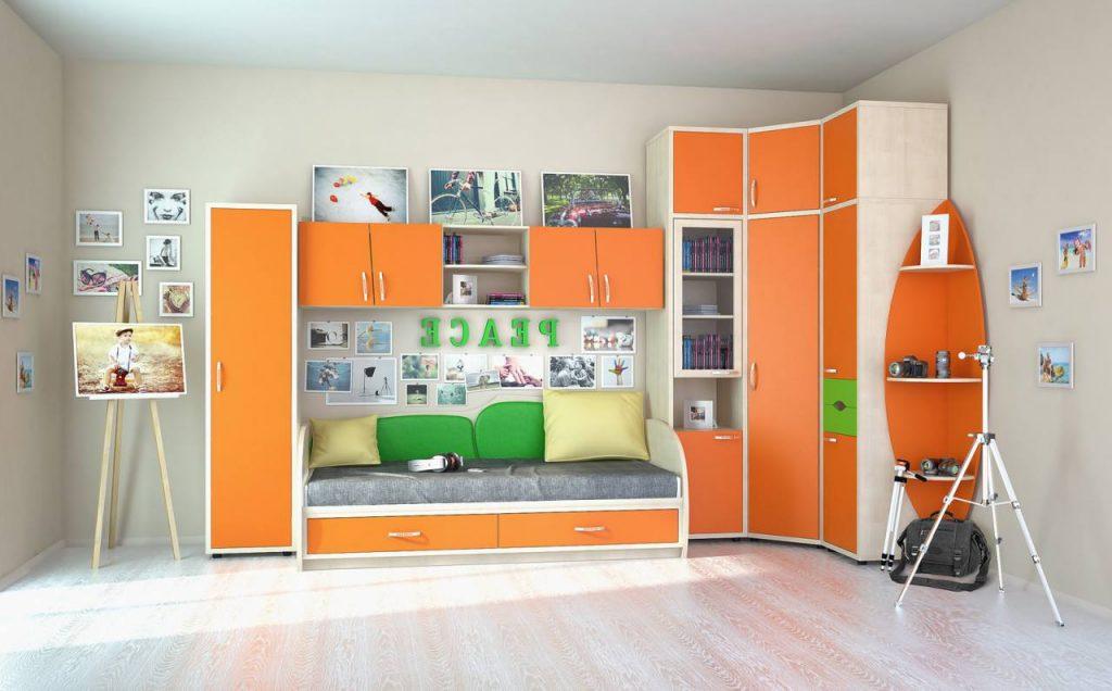 №3 Комплект детской мебели Orange.