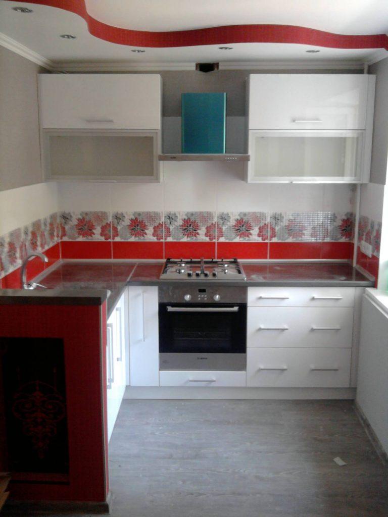 Кухня угловая №17 модерн