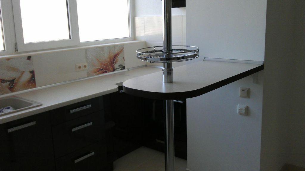 Модерн кухня №25 стойка