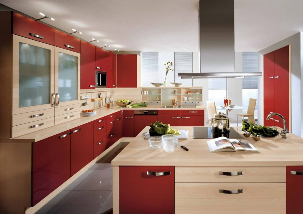 Модерн кухня с островом №50
