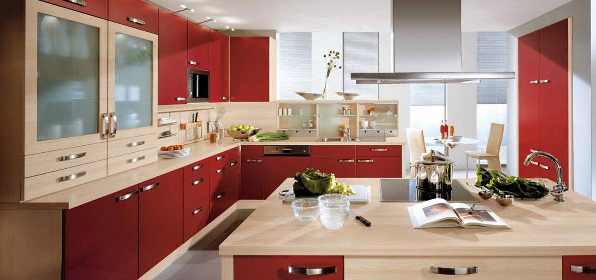 Кухни фасады крашеный МДФ