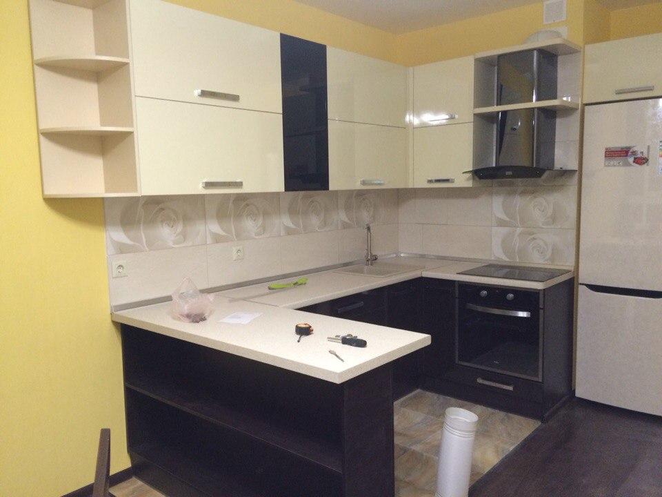 П-образная кухня модерн №46