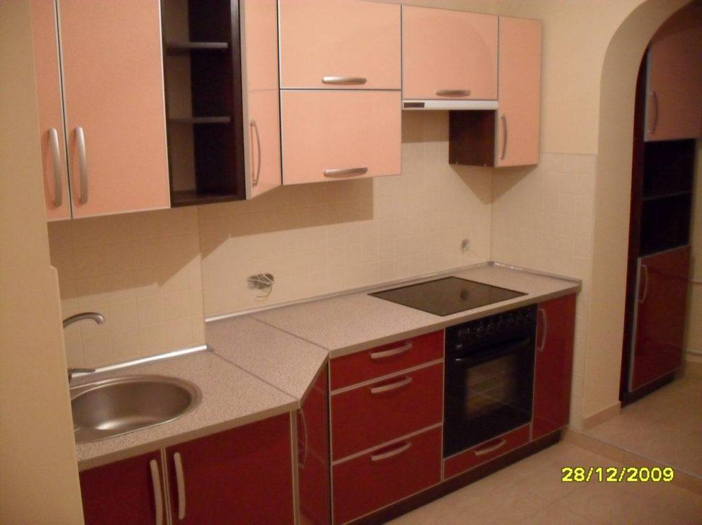 Прямая кухня модерн №15