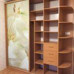 №15 шкаф фотопечать-цветы