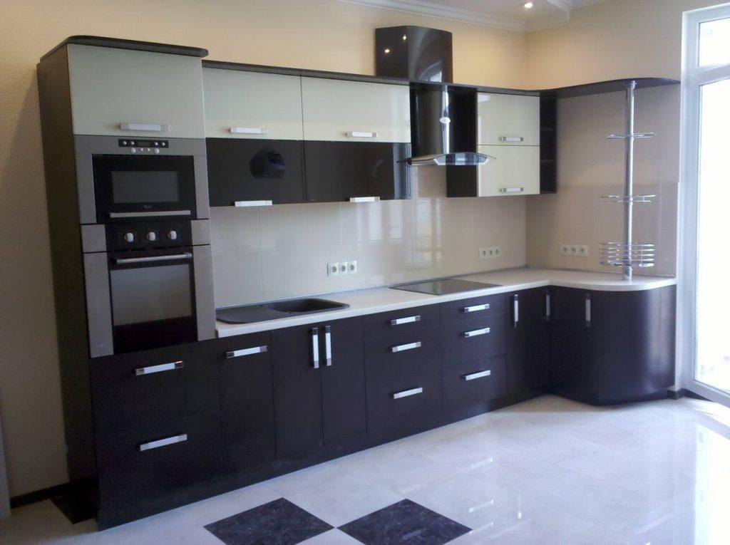 Угловая кухня №24 модерн