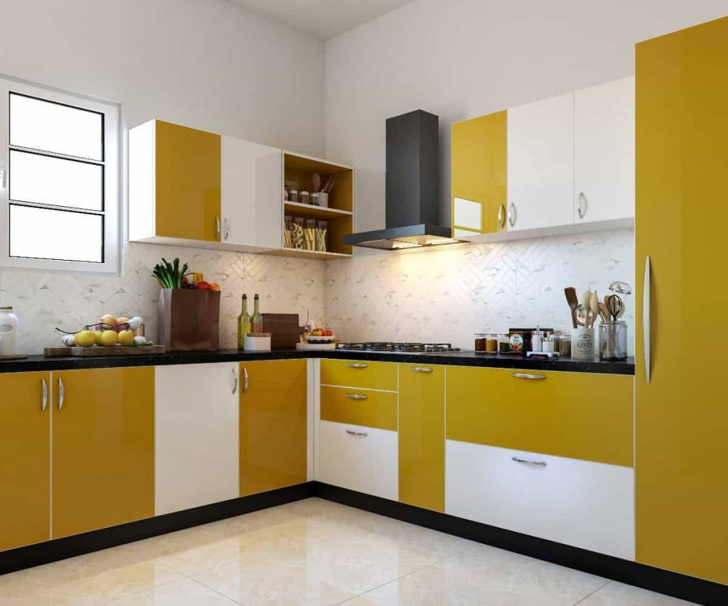 Угловая кухня №47 модерн