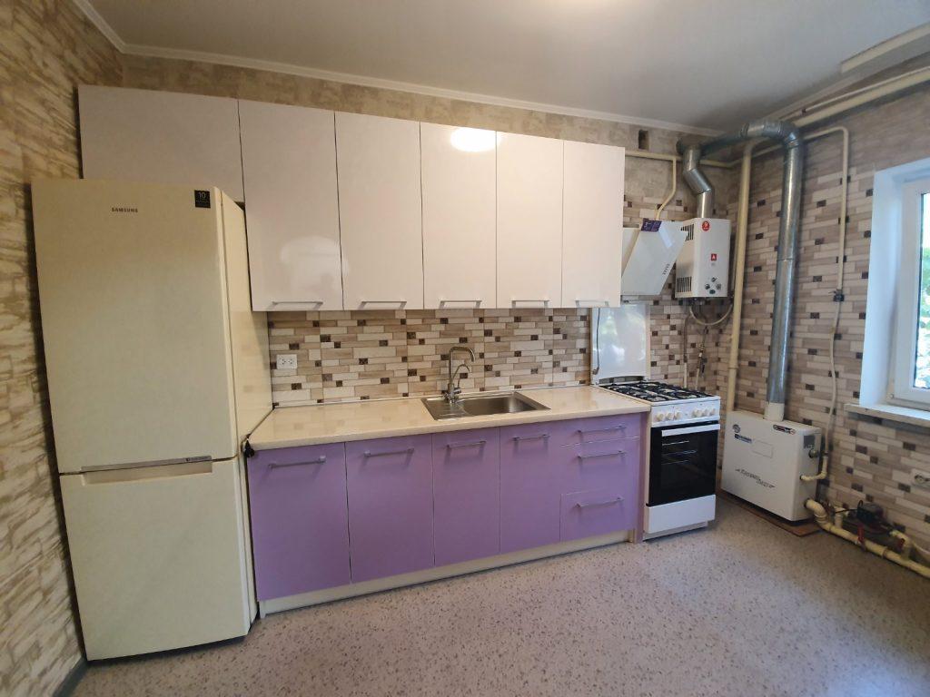 Прямая кухня минимализм №5